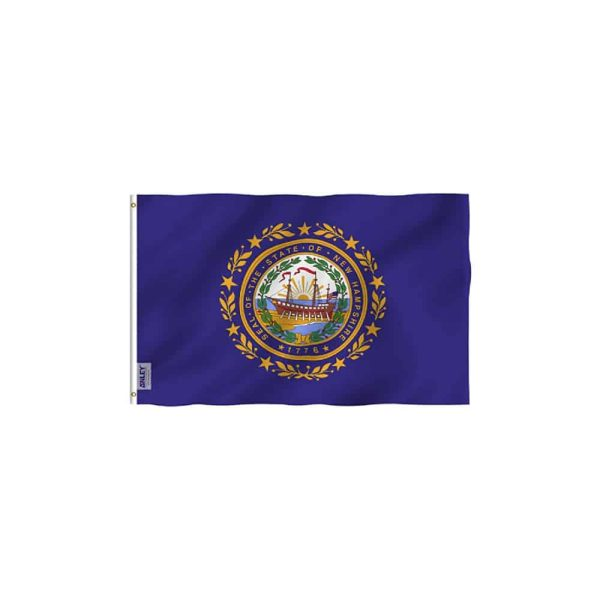 New Hampshire State Flag, Polyester, 3x5ft