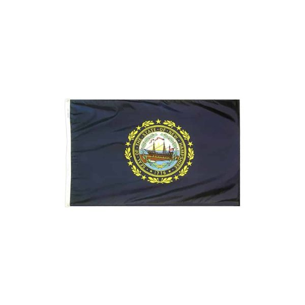 416 New Hampshire State Flag, 3x5ft, Made in USA