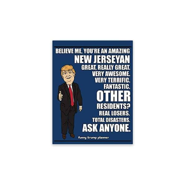 Amazing New Jerseyan, Donald Trump Planner