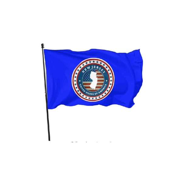 New Jersey State Flag, Polyester 3x5ft