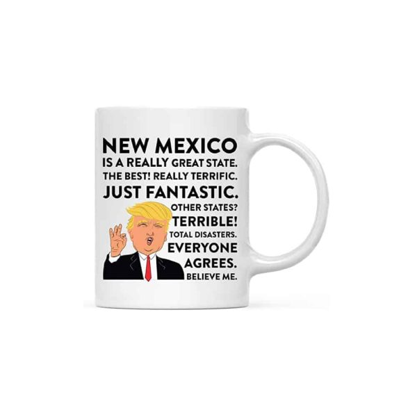 New Mexico Donald Trump Campfire Coffee Mug