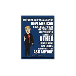 Amazing New Mexican, Donald Trump Planner