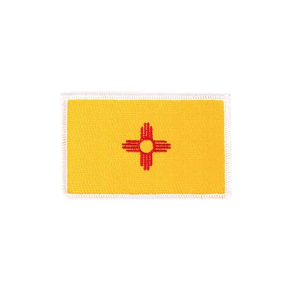 New Mexico State Flag, Sew On Badge
