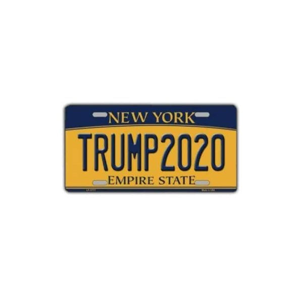 Trump 2020 New York State License Plate Souvenir