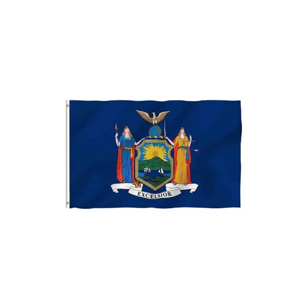 New York State Flag, Polyester 3x5ft
