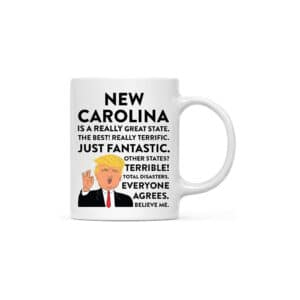 North Carolina Donald Trump Coffee Mug