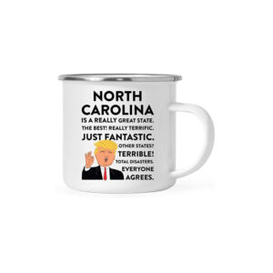 North Carolina Donald Trump Campfire Coffee Mug