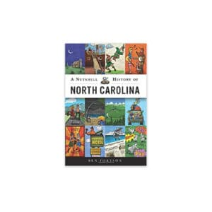 Book - Nutshell History of North Carolina, Paperback