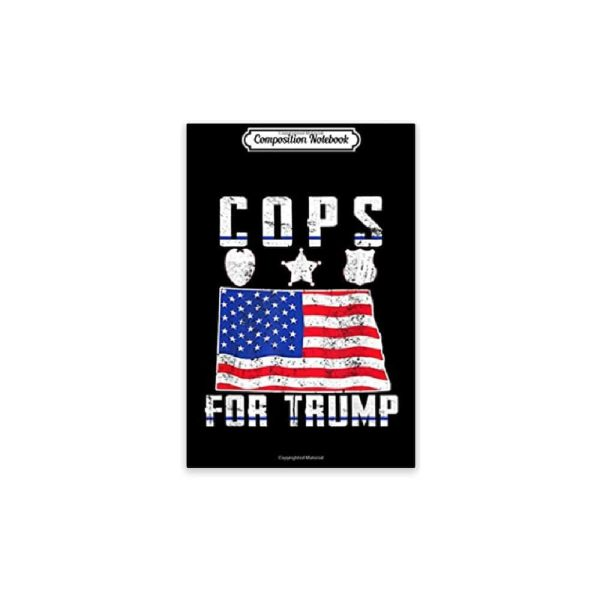North Dakota Cops for Trump, Journal Notebook