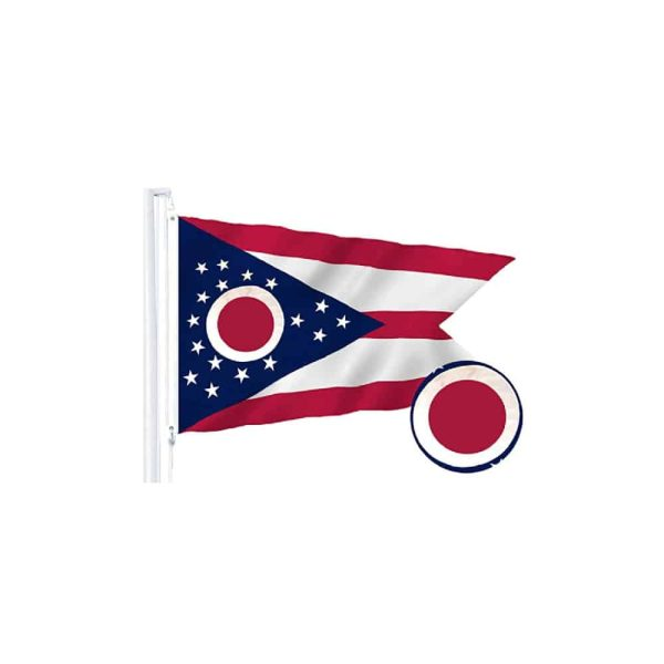 Ohio State Flag 2x3ft Polyester