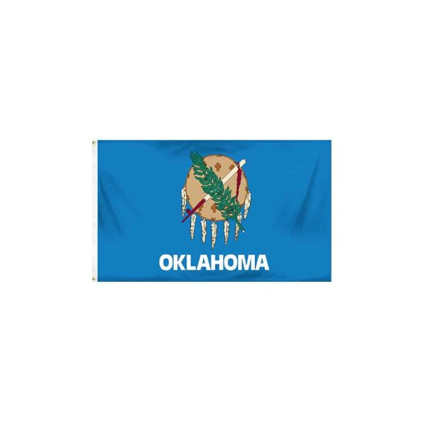 Oklahoma State Flag, Polyester 3x5ft
