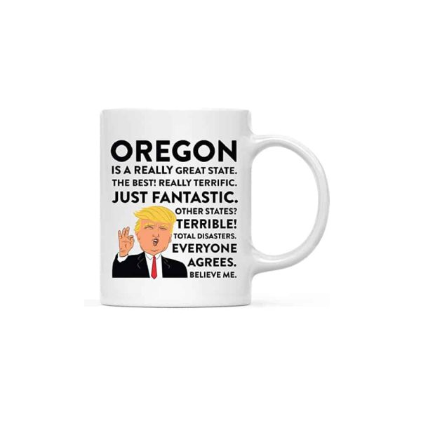 Oregon Donald Trump Coffee Mug
