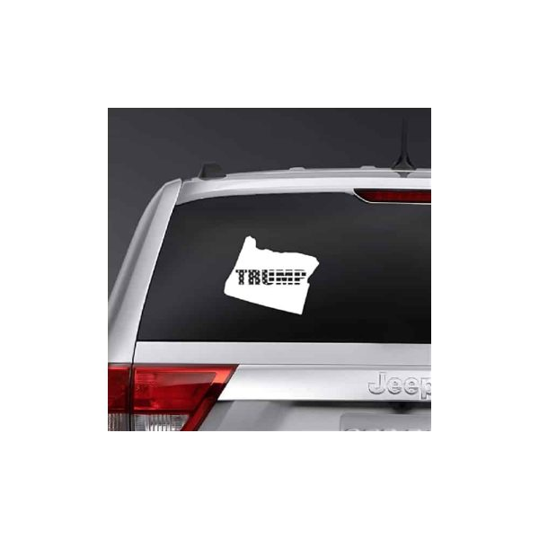 Oregon for Trump 2020, State Outline Sticker