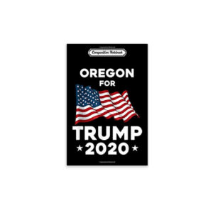 Oregon State for Trump 2020, Journal Notebook