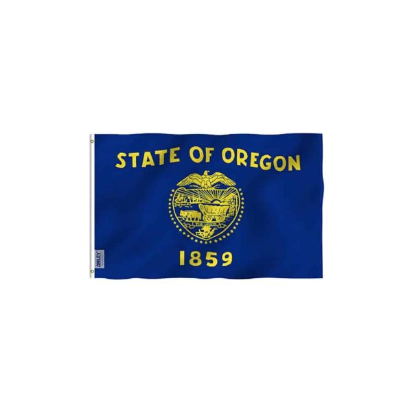 Oregon State Flag, Vivid Color 3x5ft