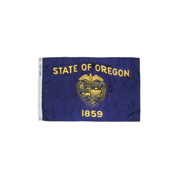 Oregon State Flag, Nylon 3x5ft Made in USA