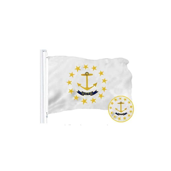 Rhode Island State Flag 3x5ft, Polyester