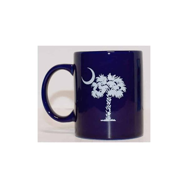 South Carolina State Flag, Ceramic Coffee Mug