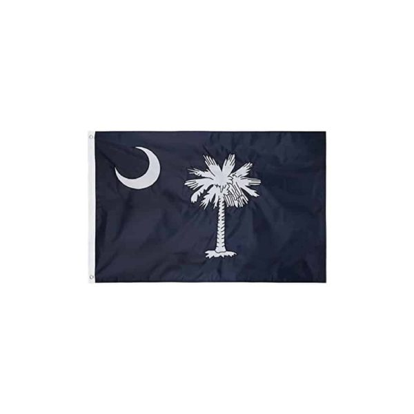 South Carolina State Flag, 3x5ft Nylon