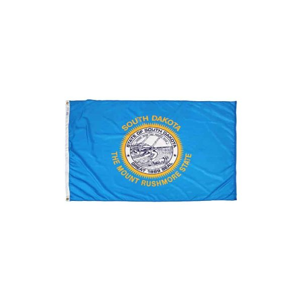 South Dakota State Flag, 4x6ft Made in USA