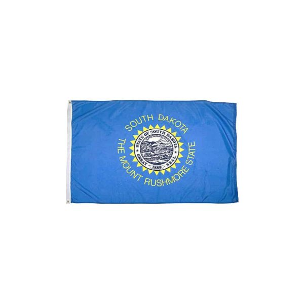South Dakota State Flag, Made in USA 3x5ft