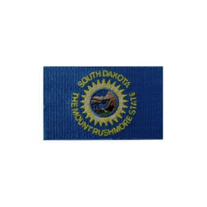 South Dakota State Flag, Sew On Patch