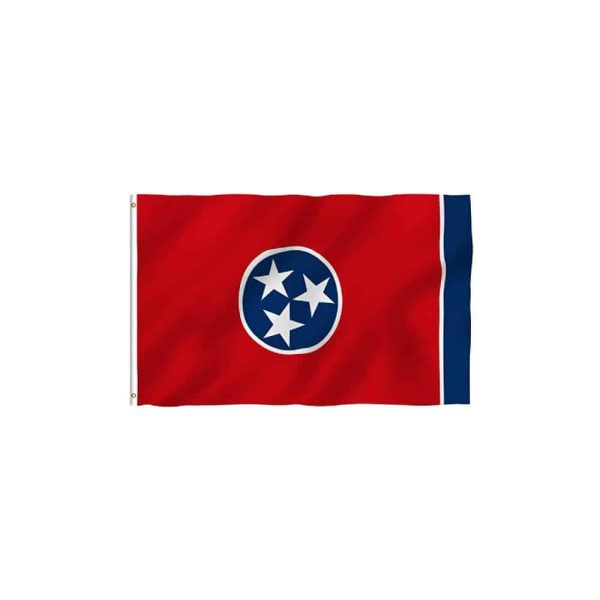 Tennessee State Flag, 3x5ft Polyester Vivid Color