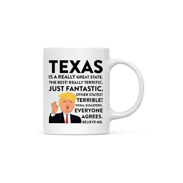 Texas Donald Trump Coffee Mug