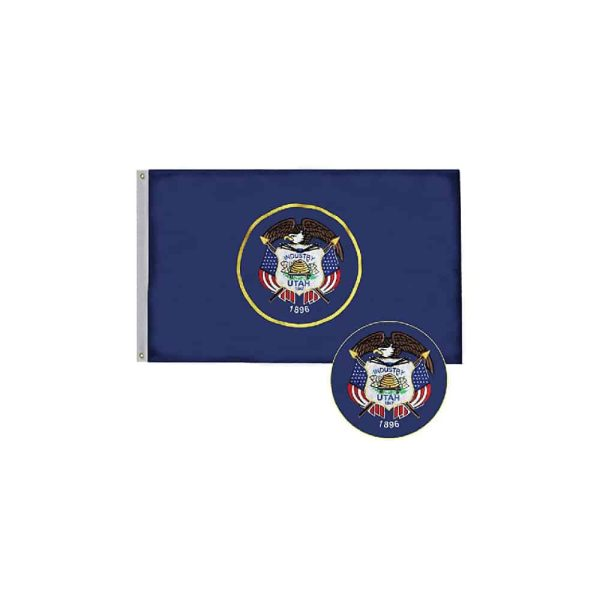 Utah State Flag, 3x5ft Polyester