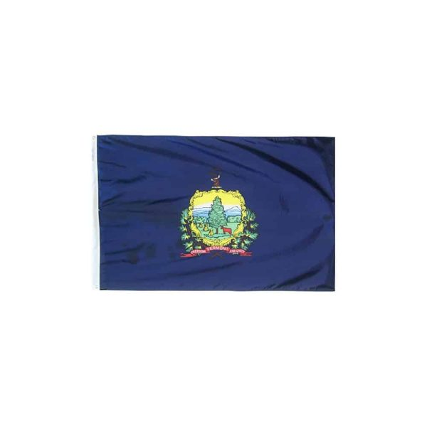 Vermont State Flag, 3x5ft Made in USA