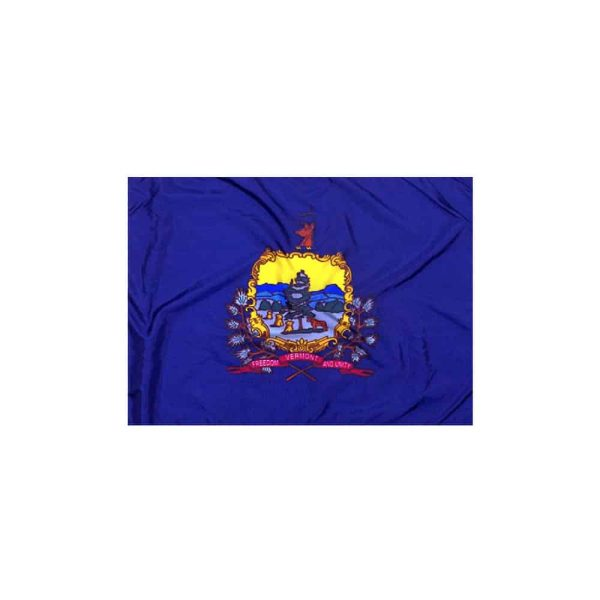 Vermont State Flag, 5x8ft Nylon