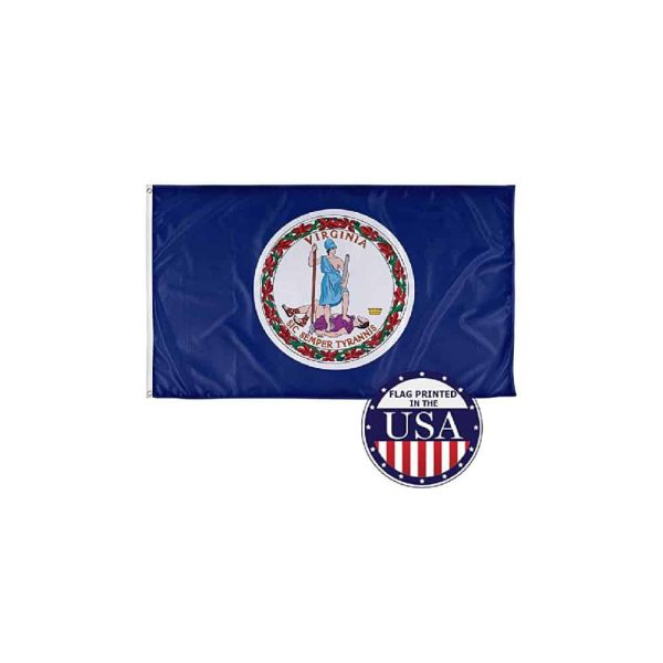 Virginia State Flag, 3x5ft Made in USA