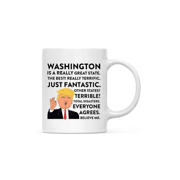 Washington Donald Trump Coffee Mug