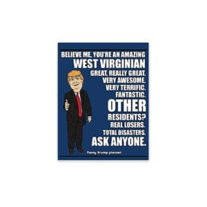 Amazing West Virginian, Donald Trump Planner