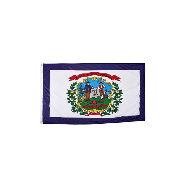 West Virginia State Flag 3x5ft