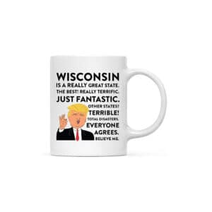 Wisconsin Donald Trump Coffee Mug