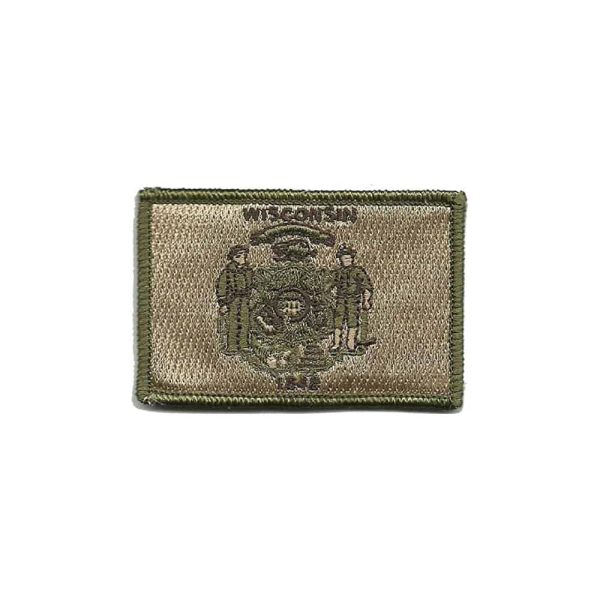 Wisconsin State Tactical Sew On Patch