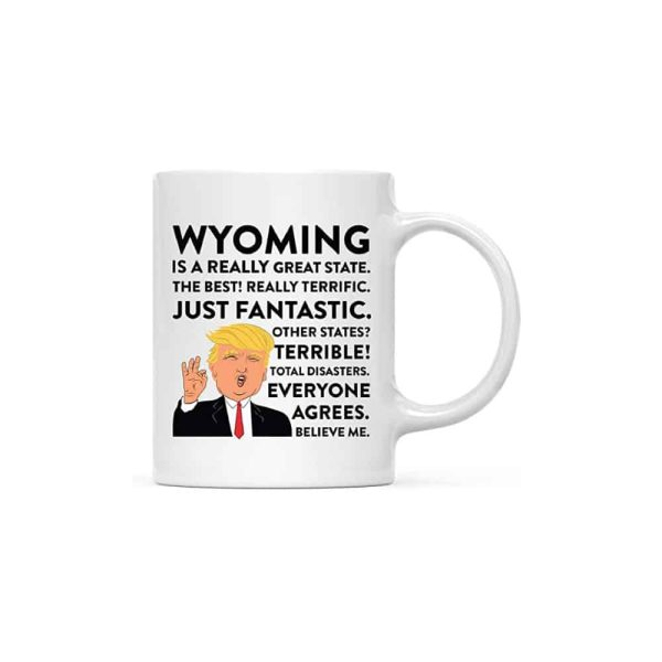 Wyoming Donald Trump Coffee Mug