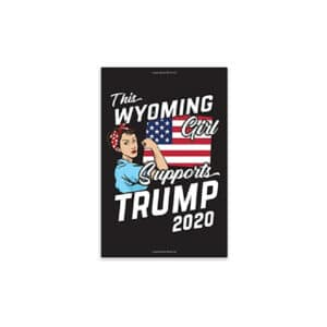 This Wyoming Girl Supports Trump, 2020 Journal