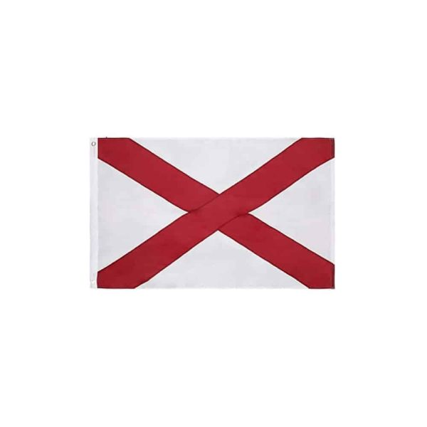 648 Alabama State Flag, 3x5ft Nylon