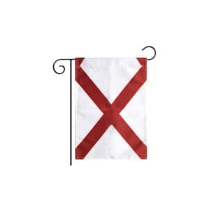 649 Alabama State Flag, Vertical Garden Flag