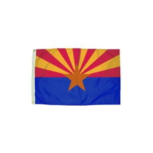 658 Arizona State Flag, 3x5ft Nylon