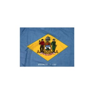 673 Delaware State Flag 3x5ft Nylon