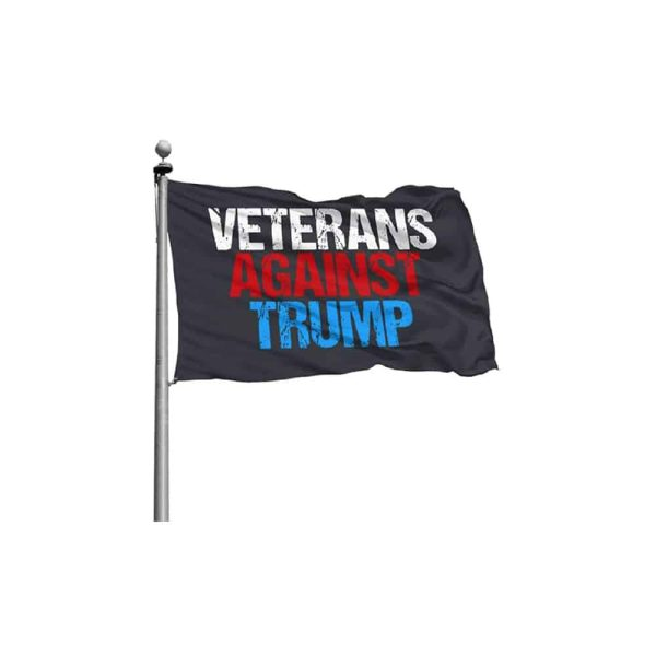 702 Veterans Against Trump - Red White and Blue Flag