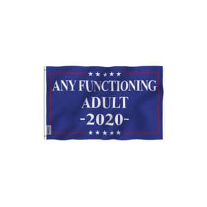 713 Any Functioning Adult 2020 Campaign Flag