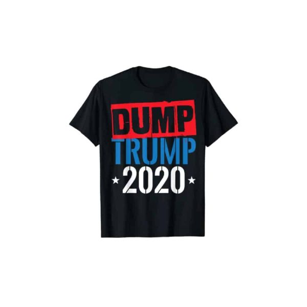 719 Dump Trump 2020 T-Shirt Red, White and Blue