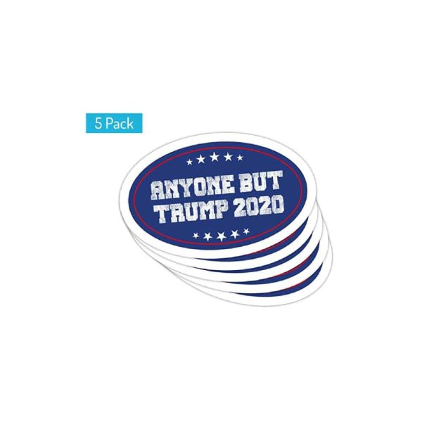 732 Anyone But Trump Magnet Stickers