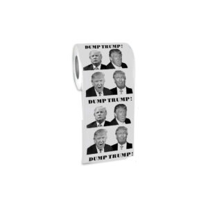 734 Dump Trump - 4 Faces Toilet Roll