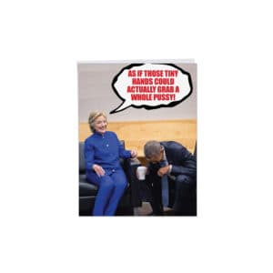 756 Pro Hillary Birthday Greetings Card