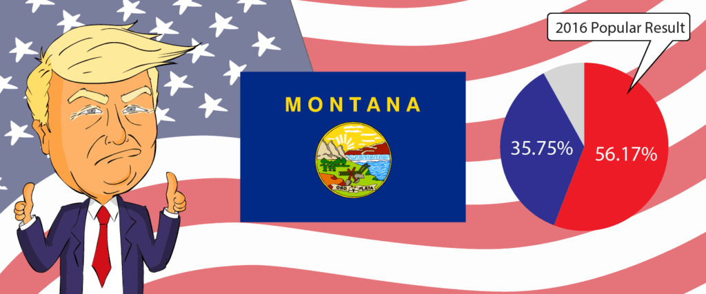 Montana for Trump 2020 - Buy Donald Trump Merchandise for Montana State